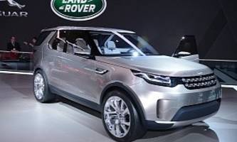 Land Rover Discovery Vision Concept: Offroading in New York [Live Photos]
