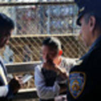 Photos: NYPD Just Removed Homeless Man From Manhattan Bridge Encampment