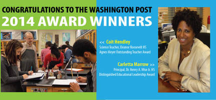 Two PGCPS Educators to be Recognized by Washington Post
