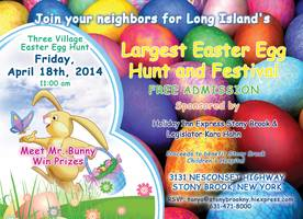 Long Island's Largest Easter Egg Hunt and Spring Fair Returns to Holiday Inn Express, Stony Brook this Friday