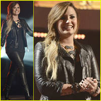 Demi Lovato Surprises 'American Idol' Audience, Teases More U.S. Tour Dates!
