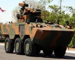 Brazilian troops receive new armored vehicles